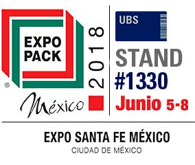 United Barcode Systems is official exhibitor at Expo Pack Mexico 2018 (Santa Fe. Ciudad de Mexico)